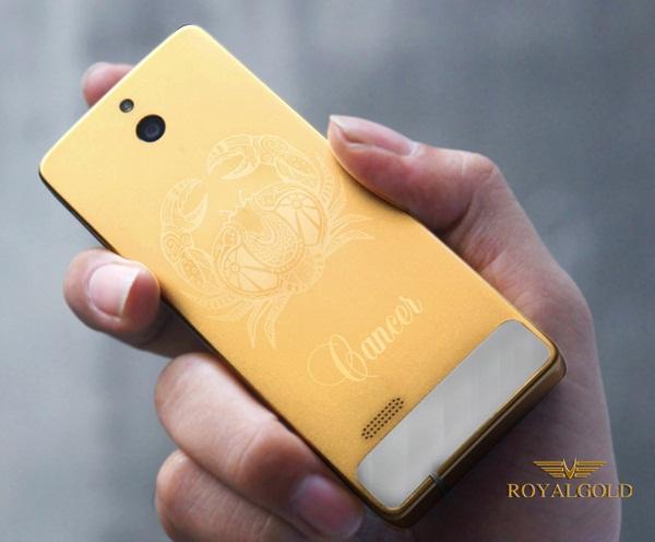 Nokia 515 mạ vàng cung hoàng đạo | Dien thoai ma vang 24k