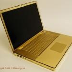 Laptop Macbook mạ vàng bởi Royal Gold