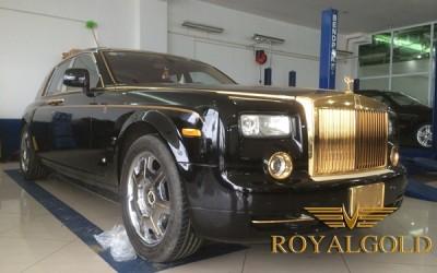 Rolls-Royce Phantom RỒNG mạ vàng 24K độc đáo
