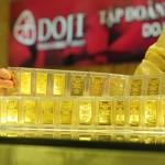 Giá vàng trong nước ngày 11/04/2014 có xu hướng giảm mạnh