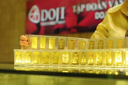 Giá vàng 24k trong nước ngày 11/04/2014 giảm mạnh