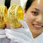 Giá vàng 24k giảm về sát mức 35 triệu đồng/lượng