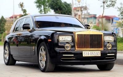 Rolls-Royce Phantom mạ vàng
