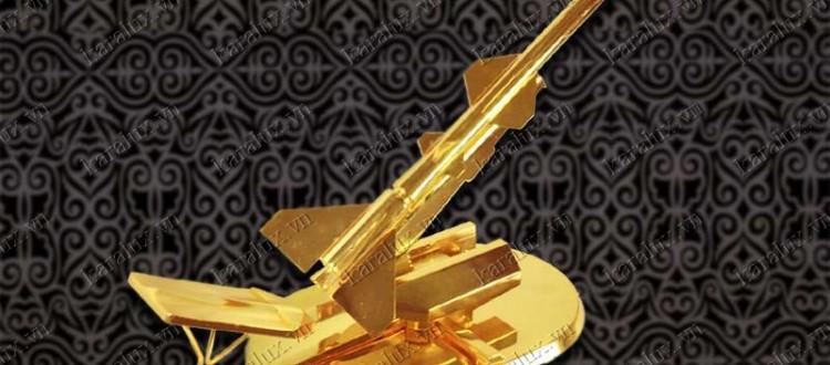 Qua tang quan doi | Quà tặng quân đội mạ vàng 24k