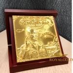 Độc đáo biểu tượng Đại tướng Võ Nguyên Giáp đúc vàng ròng nguyên khối