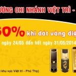 Khai trương Karalux Việt Trì – Phú Thọ: Giảm 50% khi mạ vàng điện thoại