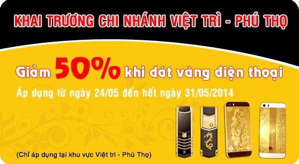 mạ vàng điện thoại Nokia 515, iphone 5s tại Việt Trì, Phú Thọ