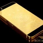 Độc đáo bộ sưu tập iphone 5s mạ vàng hòa cùng WORLD CUP 2014