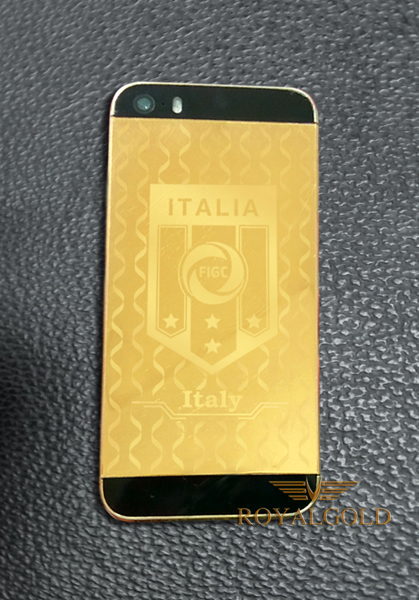 iPhone 5S mạ vàng Worldcup 2014