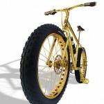 Xe đạp mạ vàng giá 1 triệu USD