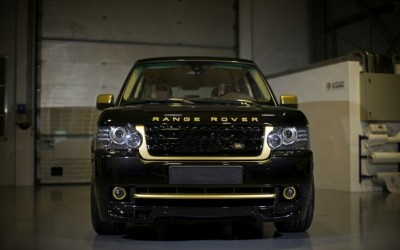 Range Rover mạ vàng 24K, Autobiography Ultimate Edition