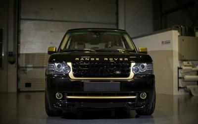 Range Rover mạ vàng 24K, Autobiography Ultimate Edition