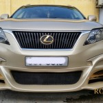 Karalux introduce Lexus RX 350 with 24K gold plated in Vietnam