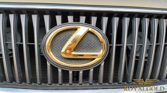 Lexus RX 350 Gold plated, Xe luxus mạ vàng, Lexus RX 350 mạ vàng 24K