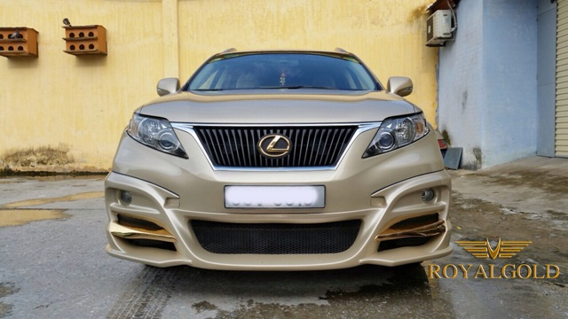 Lexus 24K Gold plated, super cars in Vietnam