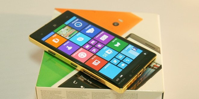 Lumia 930 gold plated, Nokia 24K gold plated in Vietnam