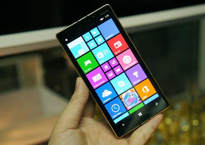 Lumia 930 Gold, điện thoại Nokia 930 mạ vàng 24K