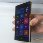 Quy trình mạ vàng cho Nokia Lumia 930