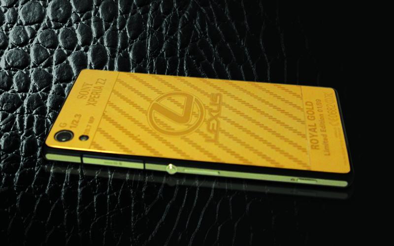 Sony Z2 Ma vang 24K