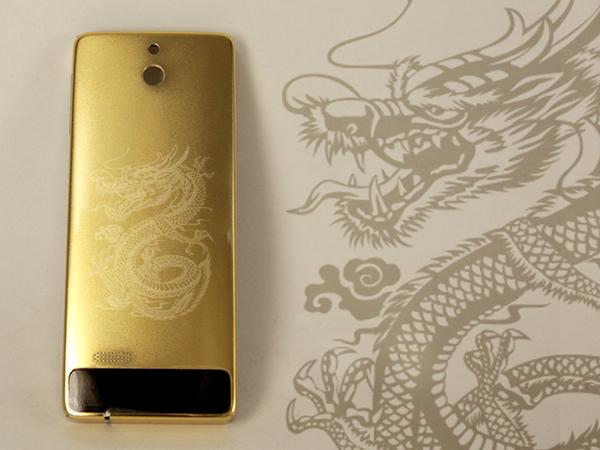 Bộ sưu tập Nokia 515 mạ vàng chạm khắc 12 con giáp