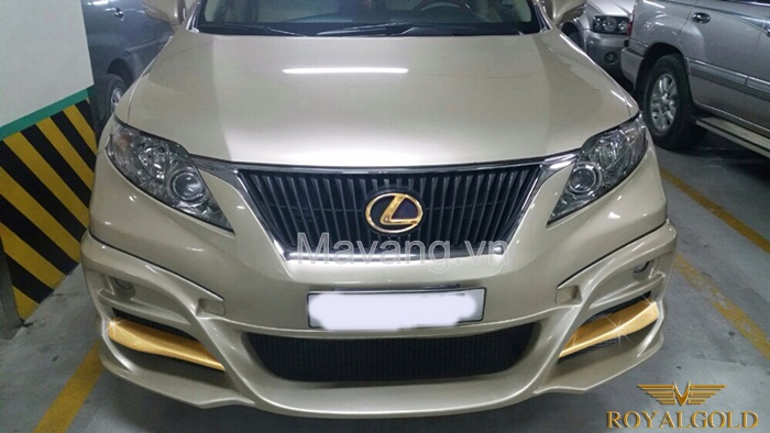 lexus RX 350 ma vang 24K | Lexus 24K Gold plated