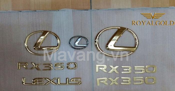 lexus RX 350 ma vang 24K-5