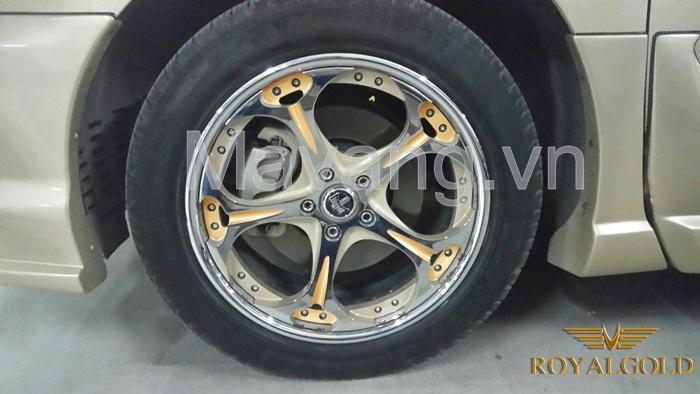 Lexus 24K Gold Plating | lexus RX 350 ma vang 24K-8