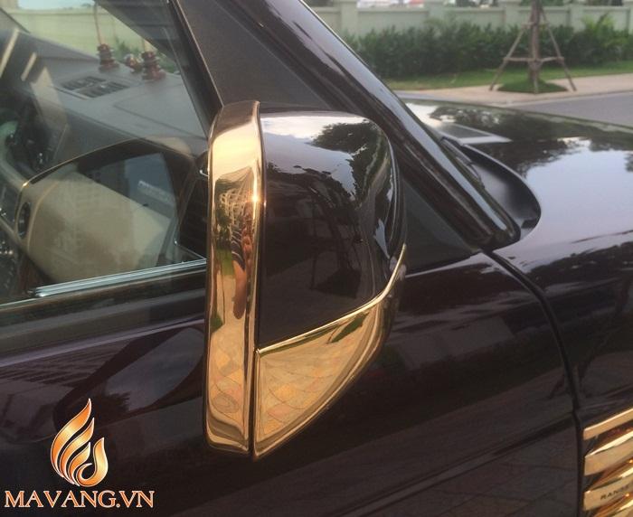 range rover ma vang 24K, siêu xe ô tô mạ vàng tại Việt Nam