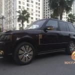 Trình làng xế sang Range Rover mạ vàng độc đáo