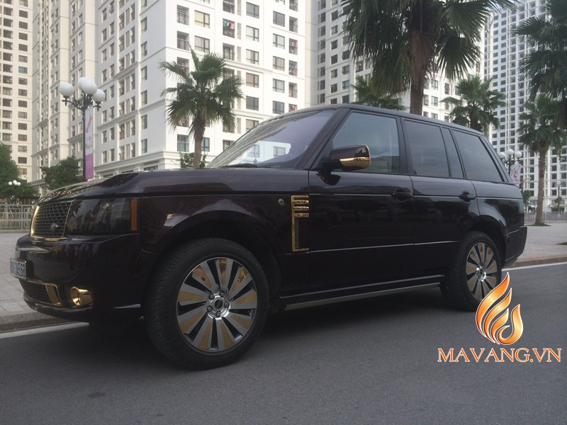Range Rover Autobiography Ultimate Edition 24K gold plated in ...