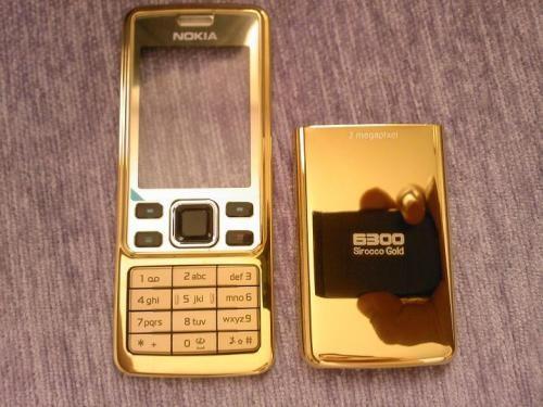 Nokia 6300 mạ vàng 24K, Nokia 6300 gold plated