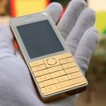 """Nokia 515 mạ vàng và bộ bàn phím """"cực độc"""""""
