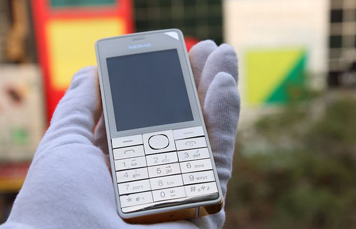 """Nokia 515 mạ vàng 24K và bộ bàn phím """"cực độc"""""""