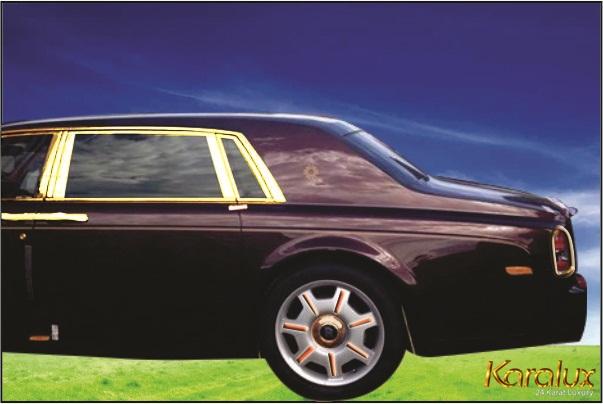 Rolls-Royce Phantom Oriental Sun mạ vàng 24K, rolls royce phantom mặt trời phương đông