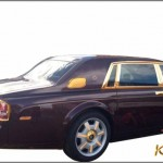 Demo Rolls-Royce Phantom Oriental Sun mạ vàng lộng lẫy
