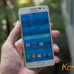 First 24K gold-plated Samsung Galaxy Alpha all over the world