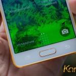 Samsung Galaxy Alpha mạ vàng đầu tiên trên thế giới
