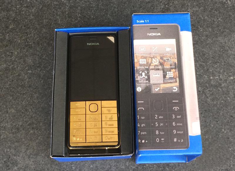 Nokia 515 gold, giá Nokia 515 mạ vàng 24K