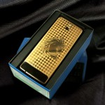 24K gold-plated Nokia 515 with special keyboard