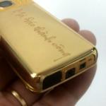 Chiêm ngưỡng Nokia 6300 mạ vàng độc đáo