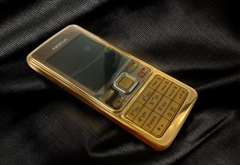 Nokia 6300 ma vàng 24K | Giá điện thoại N6300 GOLD tại Hà Nội Tp HCM