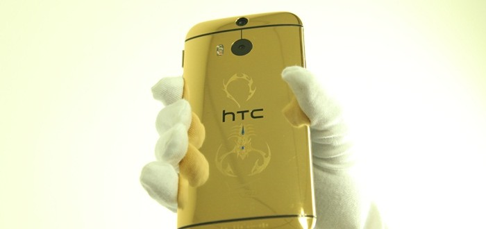 HTC One M8 gold, Gold plating for HTC 1 m8