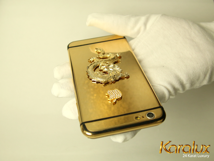 To Satisfy Gold Color Pion Karalux Continues Introduce 24k Plated Iphone 6 Models With Many Designs And Diffe Styles Especially Customers