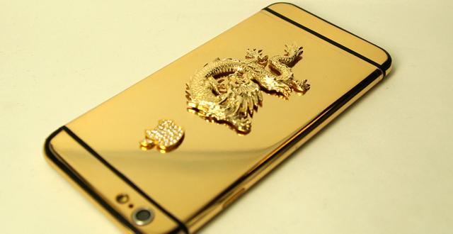 iphone 6 ma vang, Mạ Vàng