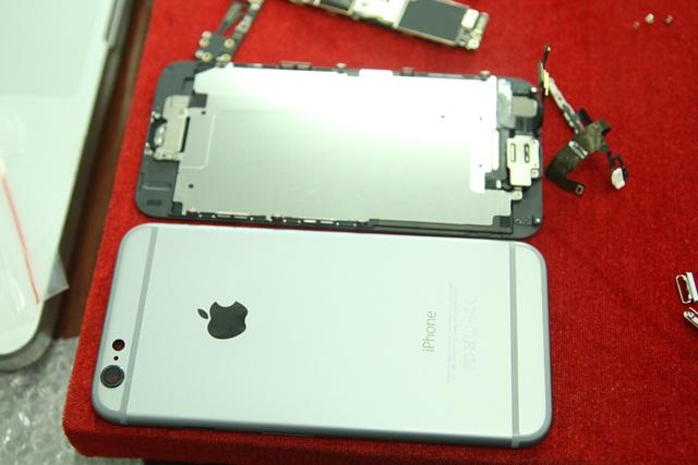 thao iPhone 6, cách tháo lắp iPhone 6 plus cực nhanh