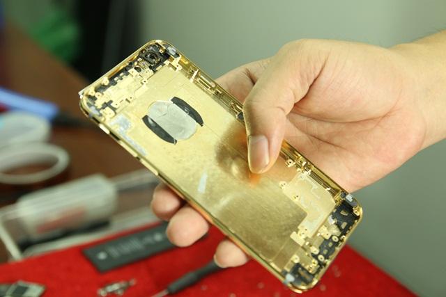 vo iphone 6 ma vang | Vỏ ip6 plus mạ vàng 24K tại HN, Tp HCM