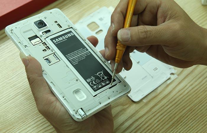 Hướng cách dẫn tháo lắp Samsung Galaxy Note 4 cực dễ