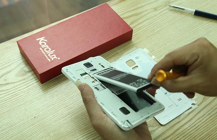 Hướng dẫn tháo lắp Samsung Galaxy Note 4 cực dễ