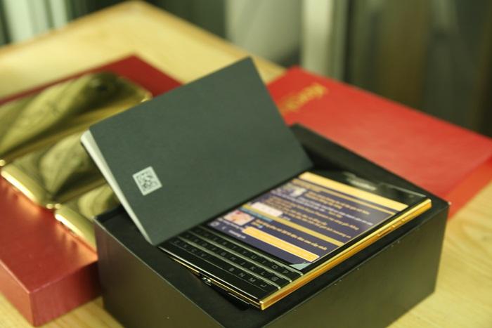 blacberry passport ma vang | BB gold mạ vàng 24K