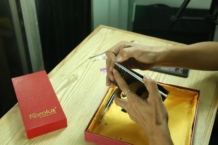 cach thao mo Blackberry Passport   Hướng dẫn cách tháo, mở, lắp BB